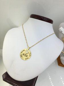 כמה עולה שרשרת זהב בעיצוב אישי ראשית