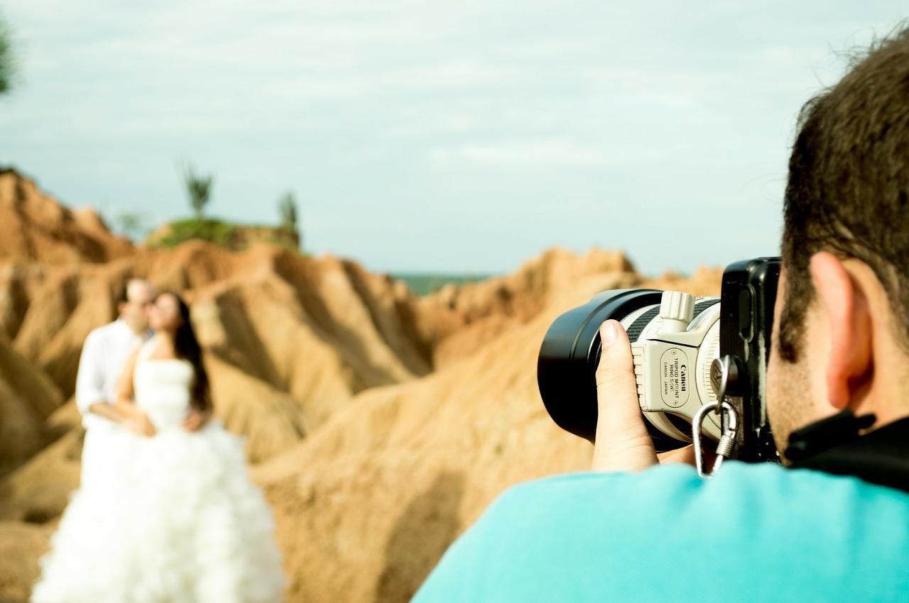 צלם וזוג
