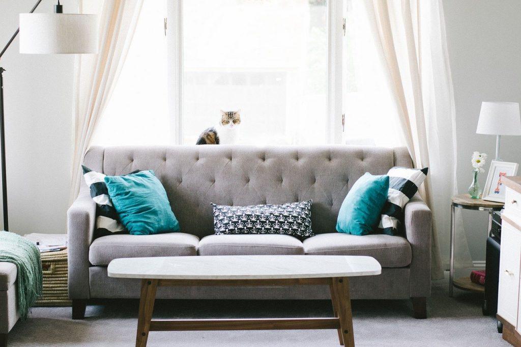 ספה בסלון