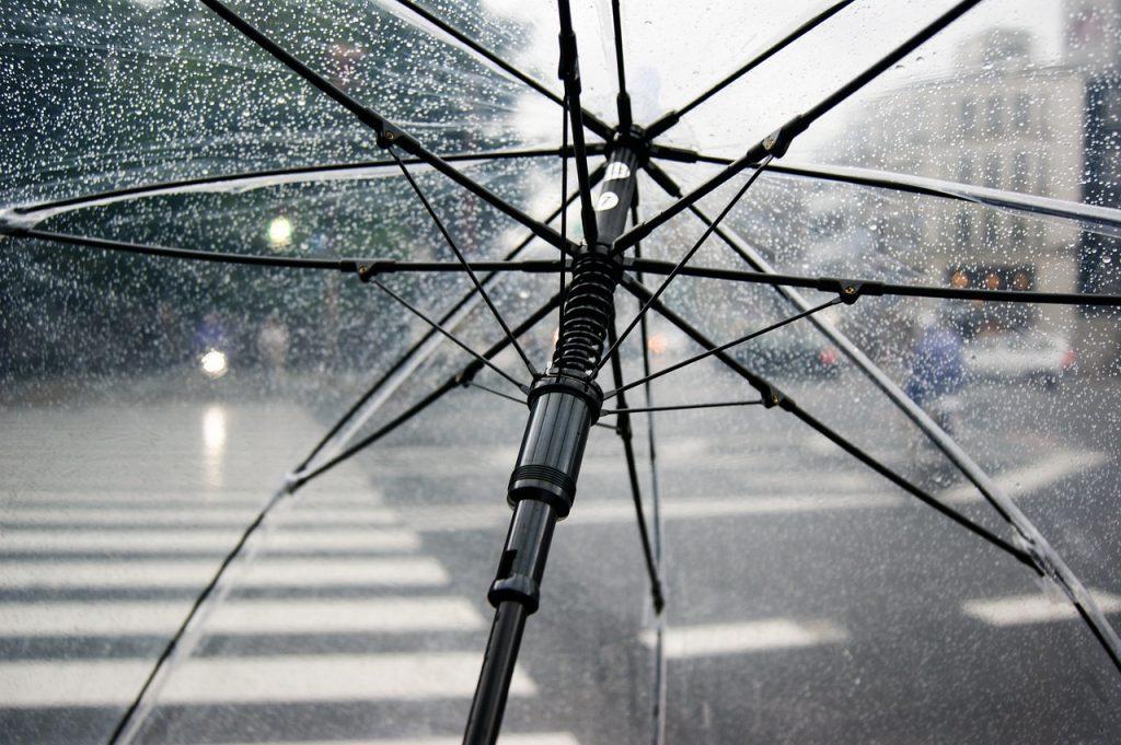 מטרייה שקופה