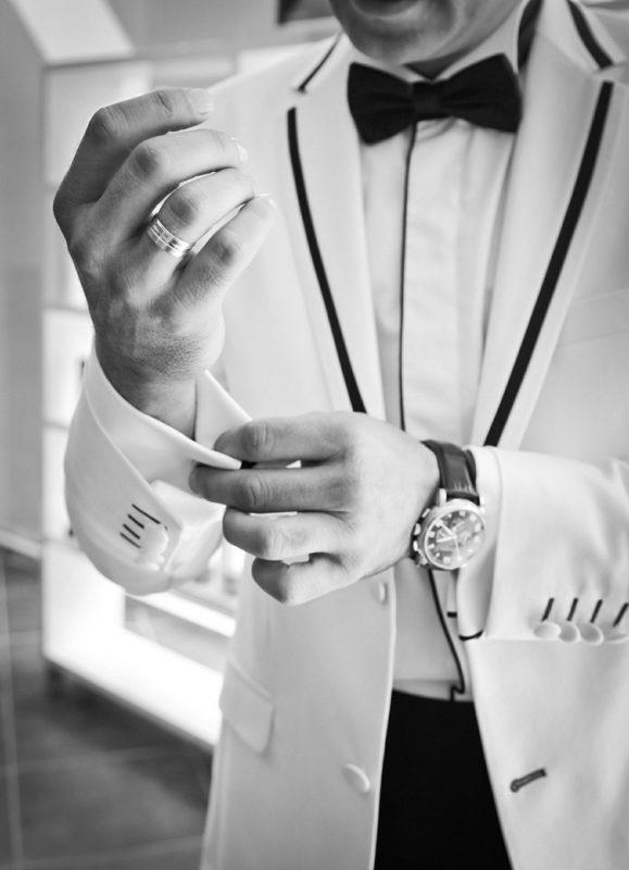 גבר לבוש יפה
