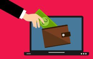 כסף בארנק דיגיטלי