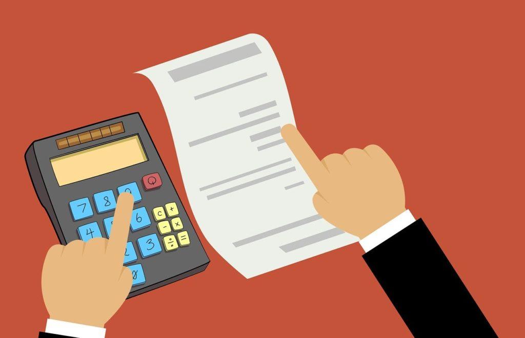 בדיקת מיסים במחשבון